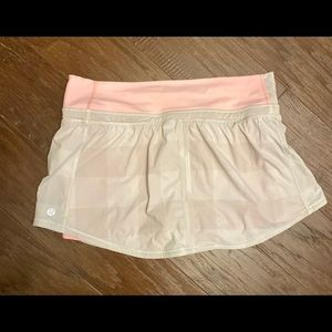 lululemon Shirt w/Shorts Great Cond. SZ-6RET$78